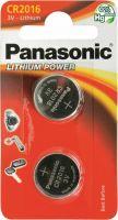 Image du produit Panasonic Batterien Knopfzelle Cr2016 2 Stück
