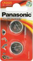 Image du produit Panasonic Batterien Knopfzelle Cr2025 2 Stück