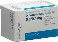 Immagine del prodotto Dutasterid Duo Spirig HC Kapseln 0.5mg/0.4mg 7 Stück
