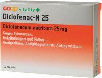 Immagine del prodotto Coop Vitality Diclofenac-n Kapseln 25mg 10 Stück