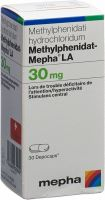 Immagine del prodotto Methylphenidat Mepha La Depocaps 30mg Dose 30 Stück