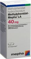 Immagine del prodotto Methylphenidat Mepha La Depocaps 40mg Dose 30 Stück