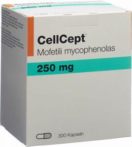Immagine del prodotto Cellcept (pi) Kapseln 250mg 300 Stück