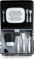 Image du produit Munchkin Grown Ups Table Dining Set Schwarz 7-teilig