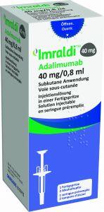 Immagine del prodotto Imraldi Injektionslösung 40mg/0.8ml Fertigspritze 0.8ml