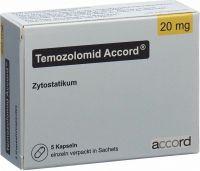 Immagine del prodotto Temozolomid Accord Kapseln 20mg Beutel 5 Stück