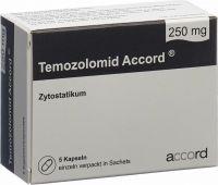 Immagine del prodotto Temozolomid Accord Kapseln 250mg Beutel 5 Stück