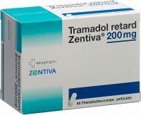 Immagine del prodotto Tramadol Retard Zentiva 200mg 60 Stück