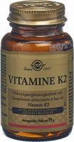 Image du produit Solgar Vitamine K2 Kapseln Flasche 50 Stück