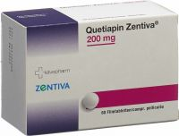Immagine del prodotto Quetiapin Zentiva Filmtabletten 200mg 60 Stück