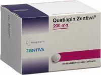 Immagine del prodotto Quetiapin Zentiva Filmtabletten 200mg 100 Stück