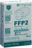 Immagine del prodotto Enhance Respiratore FFP2 senza valvola 10 pezzi