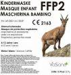 Immagine del prodotto Vasano Maschera FFP2 Bambino 4-12 anni Bianco 2 pezzi