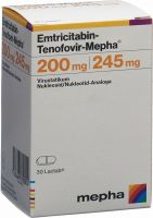 Immagine del prodotto Emtricitabin Tenof. Mepha 200/245mg Dose 30 Stück