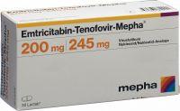 Immagine del prodotto Emtricitabin Tenof. Mepha 200/245mg 30 Stück