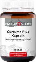 Image du produit Naturstein Curcuma Plus Kapseln Glasflasche 75 Stück