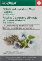 Immagine del prodotto Dünner Marshmallow Icelandic Moss Pastilles 24 Capsule