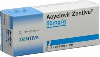 Immagine del prodotto Acyclovir Zentiva Creme 50mg/g 2 Tube 5g