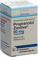 Immagine del prodotto Propranolol Zentiva Filmtabletten 80mg Dose 60 Stück