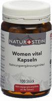 Image du produit Naturstein Women Vital Kapseln Glas 100 Stück