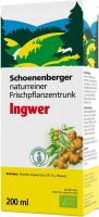 Product picture of Schönenberger Ginger Fresh Plant Juice Organic 200ml