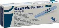 Immagine del prodotto Ozempic Fixdose 4mg/3ml (1 Mg/dosis) 3ml