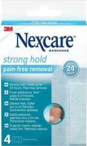Immagine del prodotto 3M Nexcare Strong Hold Pads 76.2x101mm 4 pezzi