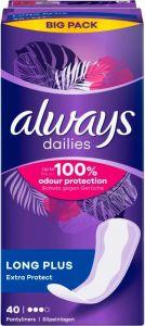 Immagine del prodotto Always Fodera per mutande Extra Protection Long Plus Bigpack 40 pezzi