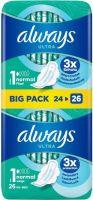 Immagine del prodotto Always Ultra Binde Normale con ali Bigpack 26 pezzi