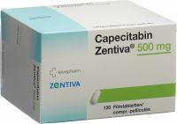 Immagine del prodotto Capecitabin Zentiva Filmtabletten 500mg 120 Stück