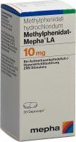 Immagine del prodotto Methylphenidat Mepha La Depocaps 10mg Dose 30 Stück