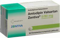 Immagine del prodotto Amlodipin Valsartan Zentiva Filmtabletten 5/80 98 Stück