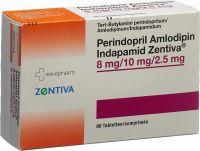 Immagine del prodotto Perindo Amlo Indap Zentiva Tabletten 8/10/2.5mg 90 Stück