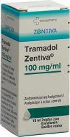 Image du produit Tramadol Zentiva Tropfen 100mg/ml Flasche 10ml