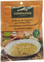 Image du produit Natur Compagnie Suppe Buchstaben Bio Beutel 50g