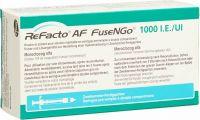 Image du produit Refacto Af Fusengo 1000 Ie C Solv Fertigspritze