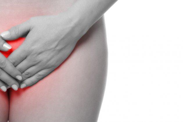 Genital herpes in der scheide